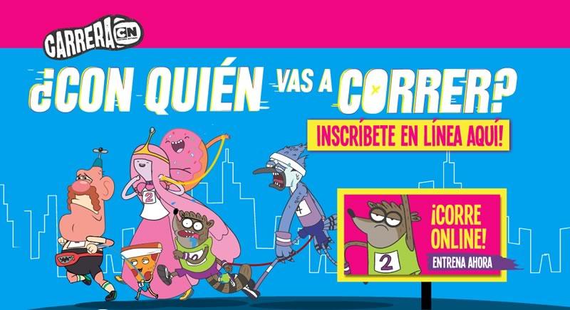 Falta poco para la Carrera Cartoon Network y te presentamos la canción que acompañará el evento - Carrera-Cartoon-Network-2014