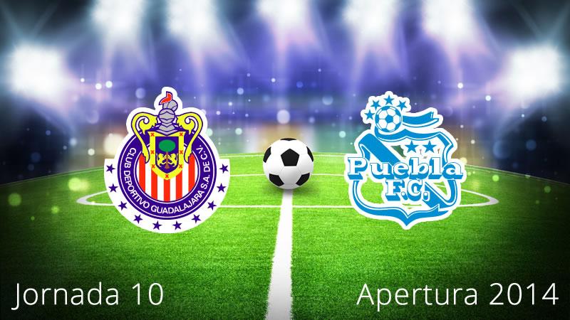 Chivas vs Puebla, Jornada 10 Apertura 2014 - Chivas-vs-Puebla-en-vivo-Apertura-2014-Jornada-10