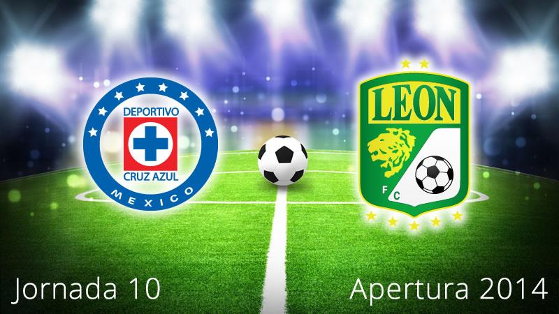 Cruz Azul vs León, Jornada 10 Apertura 2014 - Cruz-Azul-vs-Leon-en-vivo-Apertura-2014-Jornada-10