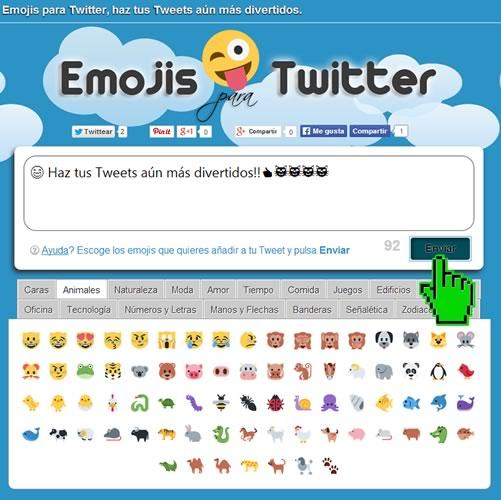 Usa Emojis para Twitter en tu computadora y ponle diversión a tus tuits - Emojis-para-Twitter