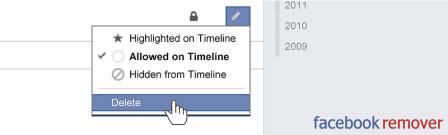 Elimina todo lo de tu Facebook rápidamente con Facebook Activity Remover