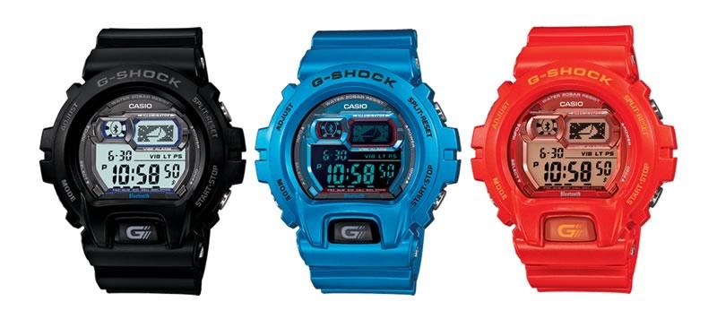 G-Shock Bluetooth, los relojes Casio que se conectan a tu smartphone - G-Shock-Bluetooth-Colores