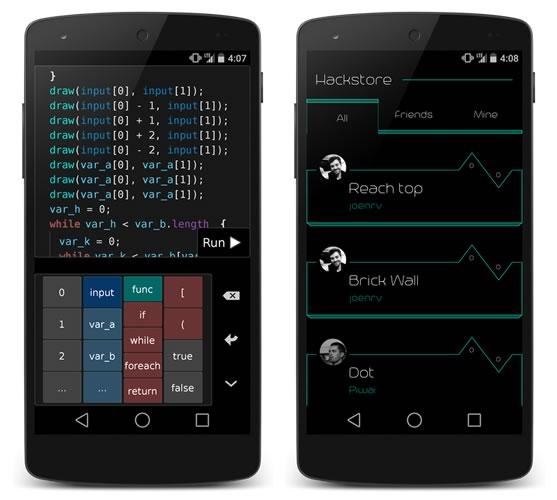 Hacked, el juego de android para programadores - Hacked-Juego-Android-desarrolladores