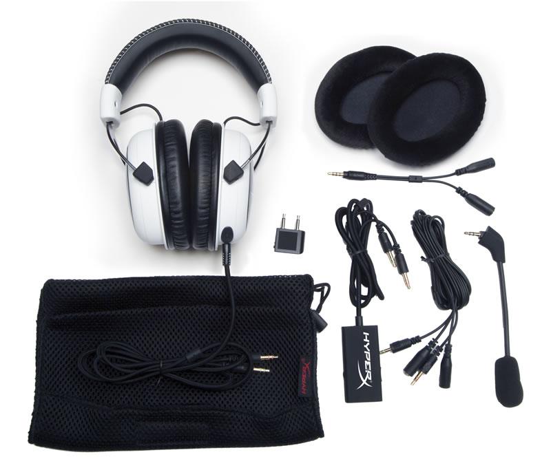 Audífonos HyperX Cloud White Edition son presentados - HyperX-accesorios
