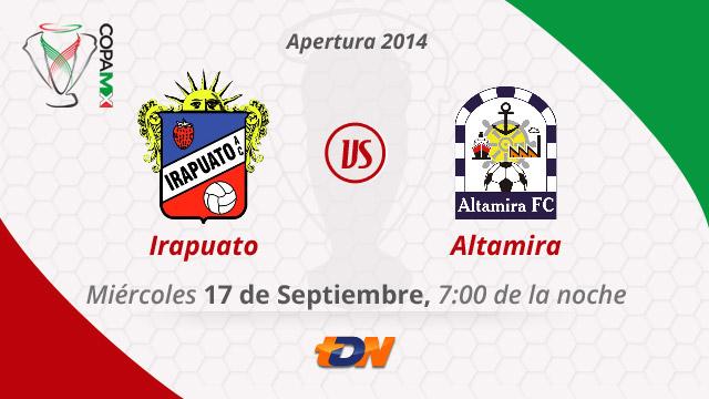 Irapuato vs Altamira, Copa MX Apertura 2014 (IDA) - Irapuato-vs-Altamira-en-vivo-Copa-MX-Apertura-2014