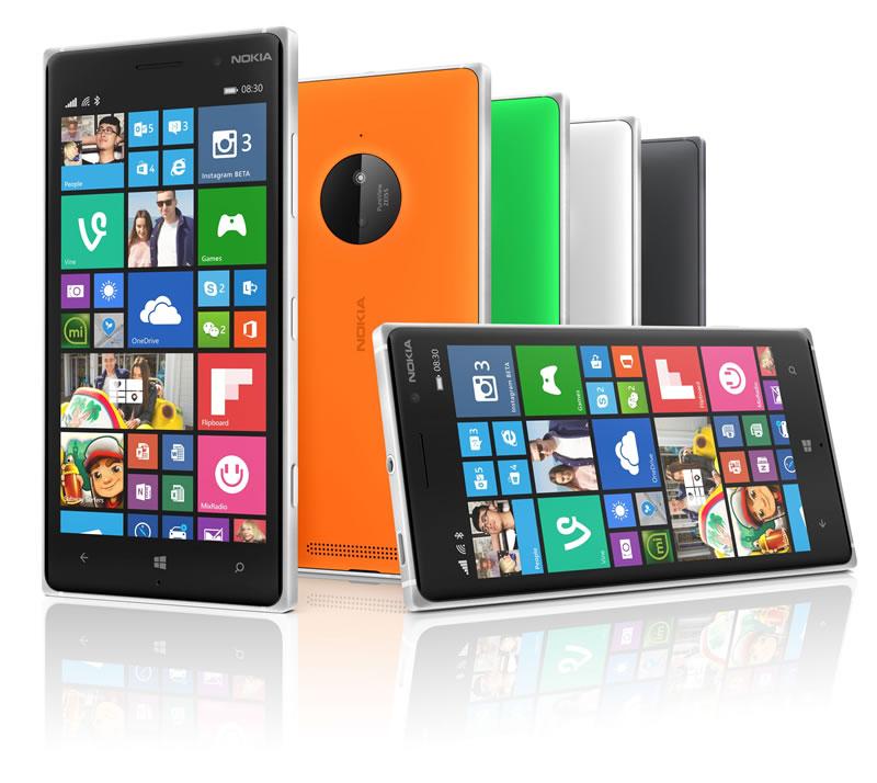 Lumia 730 y 735, dos smartphones diseñados para selfies - Lumia-830