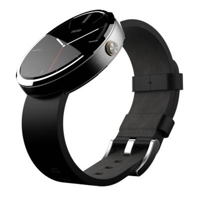 Moto 360 Correa Negra Conoce el Moto 360, el smartwatch de Motorola que desearas tener