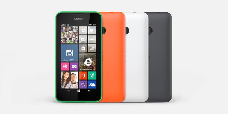 Lumia 530, el smartphone de alto rendimiento a menos de $2000 pesos llegó a México - Nokia-Lumia-530-en-Mexico