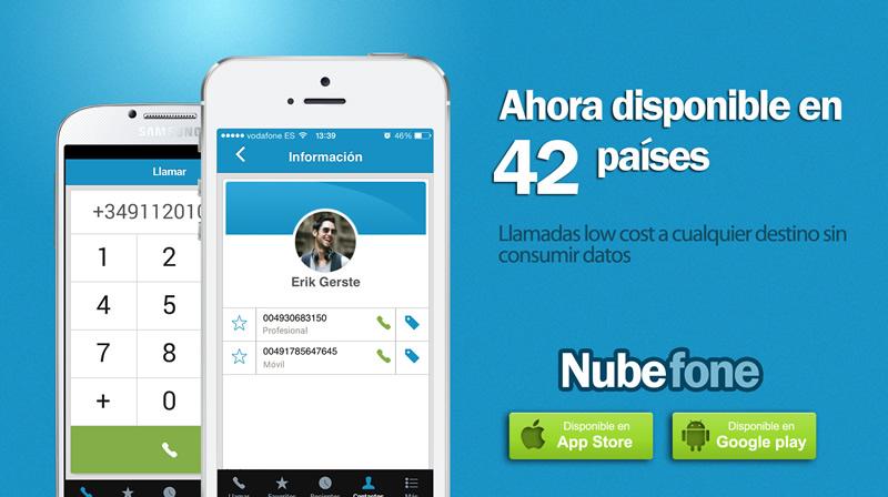 Nubefone, app para llamar a fijos y móviles sin consumir datos, ya disponible en México - Nubefone-llamadas-a-celular-y-fijos-sin-consumir-datos