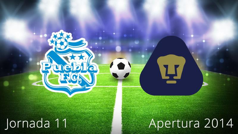Pumas vs Puebla, Jornada 11 Apertura 2014 - Pumas-vs-Puebla-en-vivo-Apertura-2014-Jornada-11