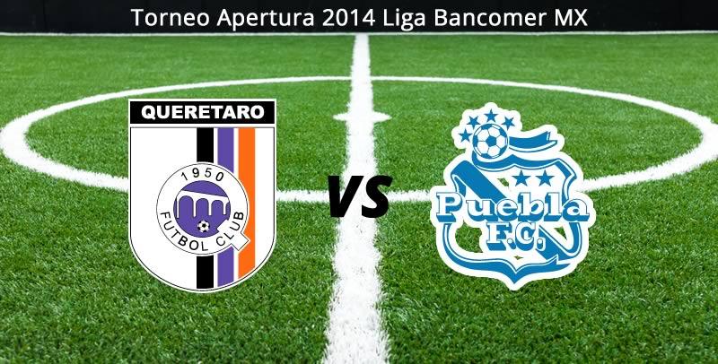Querétaro vs Puebla, Jornada 8 del Apertura 2014 - Queretaro-vs-Puebla-en-vivo-Apertura-2014