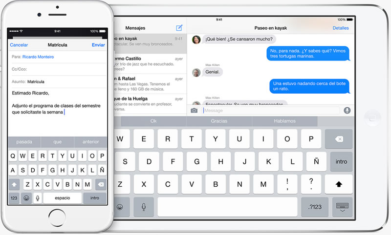 iOS 8 estará disponible el día de hoy, conoce sus novedades - QuickType-iOS-8