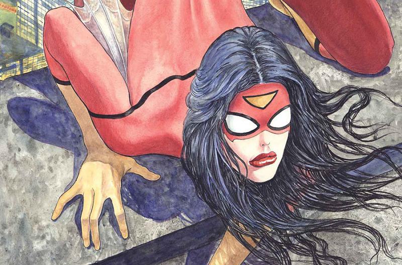 Marvel cancela dos portadas alternas de Milo Manara - SPIDERWOMAN001Manara-800x528