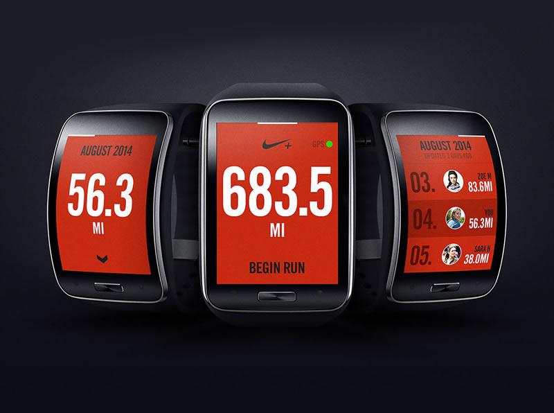 Nike+ Running se integra al Samsung Gear S - Samsung-Gear-S-Nike+-Running