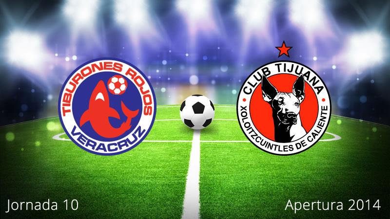 Veracruz vs Tijuana, Jornada 10 Apertura 2014 - Veracruz-vs-Tijuana-en-vivo-Apertura-2014