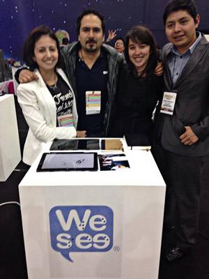 Crean app que facilita el uso de smartphones a invidentes - We-See