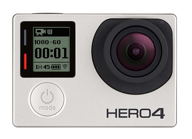 GoPro HERO4 es la nueva versión de la cámara de acción más famosa dle mundo - gopro-hero4