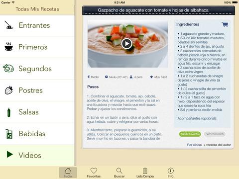 5 aplicaciones para cocinar como expertos en iOS y Android - screen480x480