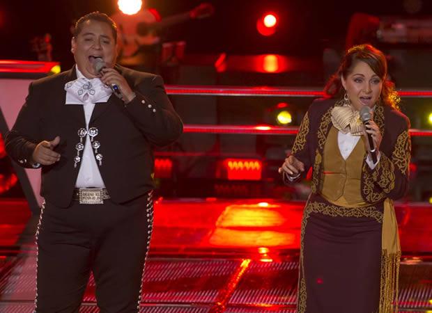 Esto pasó en las primeras batallas de La Voz México 2014 - 3-Irineo-Maciel-y-Claudia-Isabel-La-Voz-Mexico-2014
