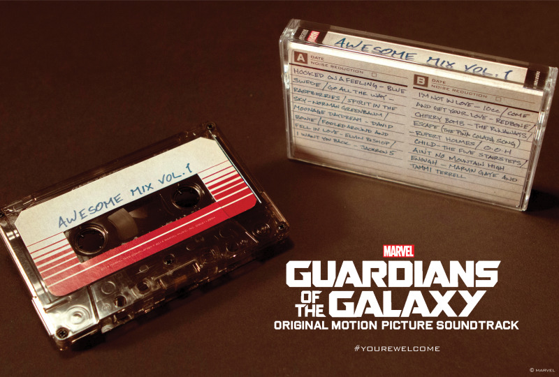 Awesome Mix Vol. 1 tendrá edición especial en forma de casete - 418456134250-800x540