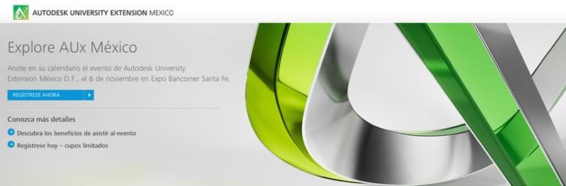 Autodesk University Extension México tercera edición es anunciada - Autodesk-University-Extension-Mexico