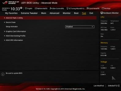 ASUS Crossblade Ranger, primera tarjeta AMD FM2+ ROG [Reseña] - BIOS-7