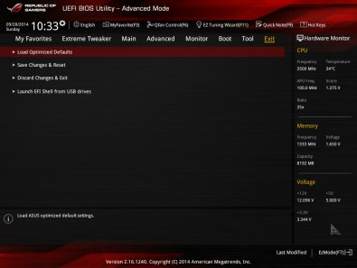 ASUS Crossblade Ranger, primera tarjeta AMD FM2+ ROG [Reseña] - BIOS-8