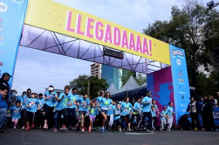 Unas 16,000 personas corrieron la Carrera Cartoon Network