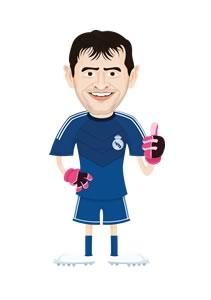 Lanzan Real Madrid Trivia Fans ¿Qué tan fan del Real Madrid eres? - Casillas-Real-Madrid