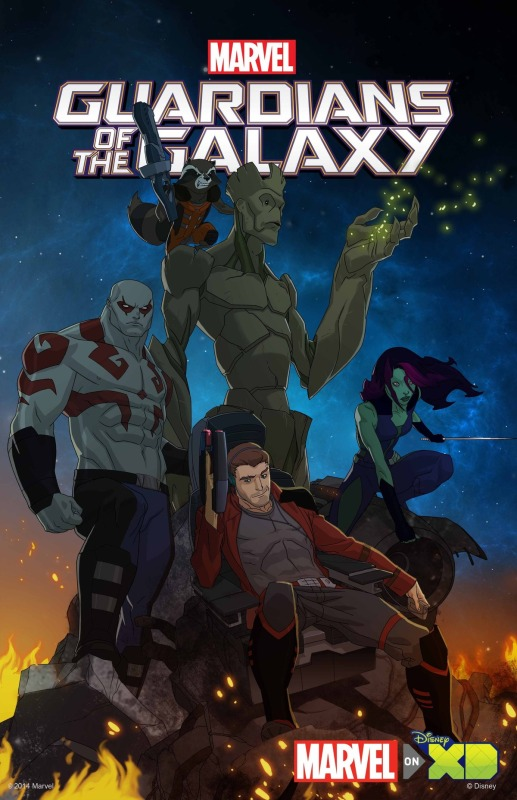 Habrá serie animada de Guardians of the Galaxy - GotGAnimated-517x800
