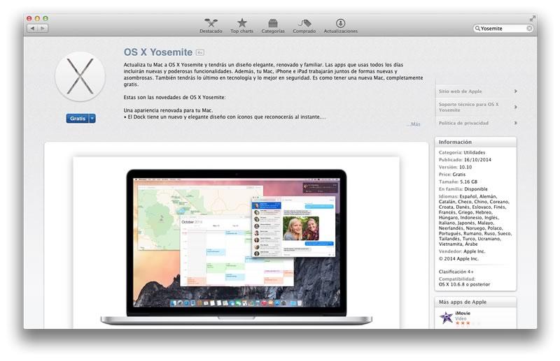 OS X Yosemite disponible gratis desde hoy - Instalar-Mac-OS-X-Yosemite