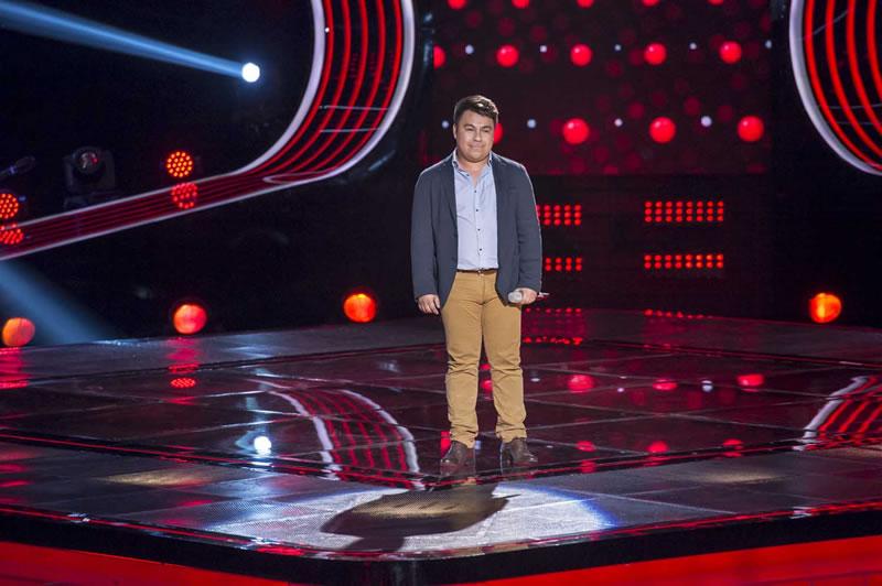 Esto pasó en La Voz México 2014 en su quinta noche de audiciones - La-Voz-Mexico-2014-Roberto-Alvarado
