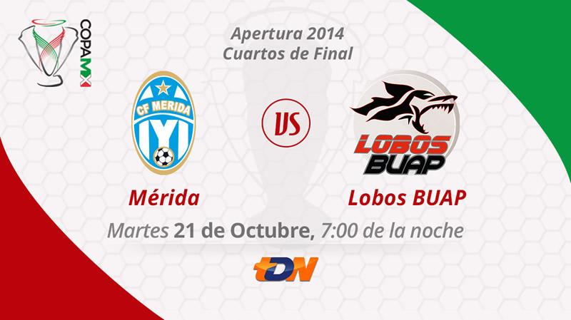 Mérida vs Lobos BUAP, Copa MX Apertura 2014 - Merida-vs-Lobos-BUAP-en-vivo-Copa-MX-Apertura-2014