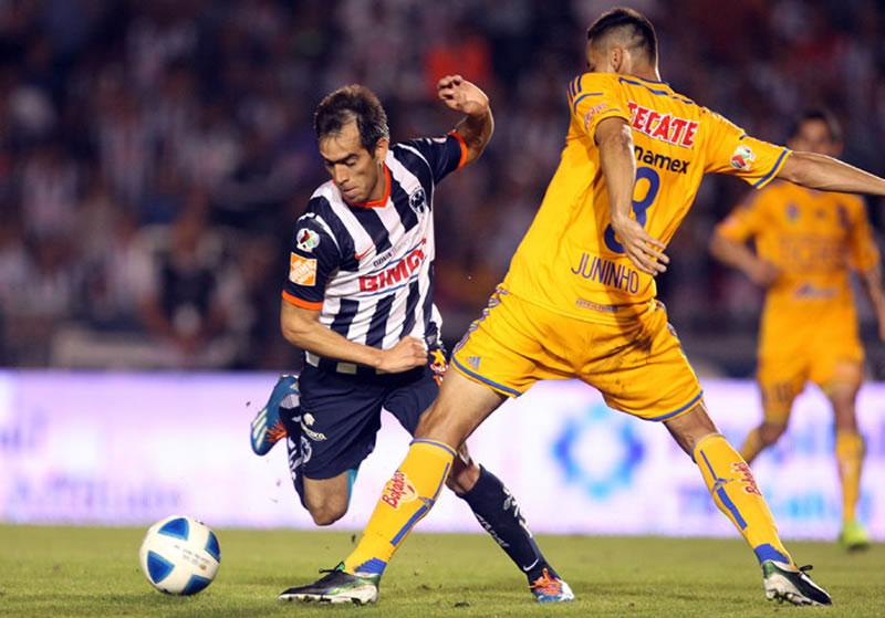 Monterrey vs Tigres, Jornada 14 del Apertura 2014 - Monterrey-vs-Tigres-en-vivo-Apertura-2014