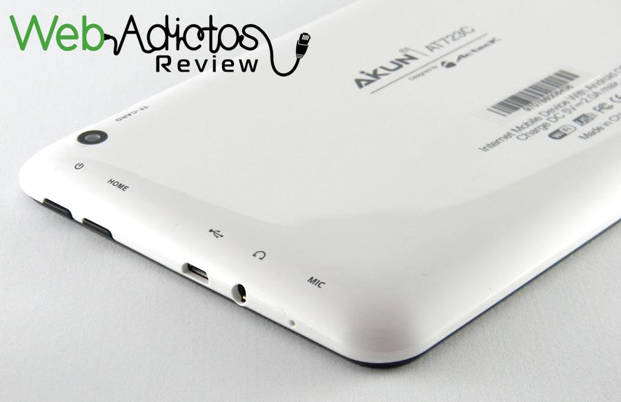Tablet Aikun AT723C de Acteck, una tablet económica con Android KitKat