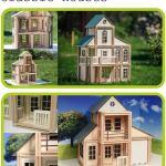 WoodyMac, el set de bloques de construcción de madera con imanes que te encantará - WoodyMac-Classic-houses