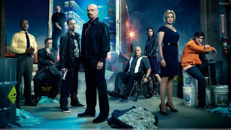 La vida sin Heisenberg: A un año de Breaking Bad - breaking-bad-all-characters-800x450