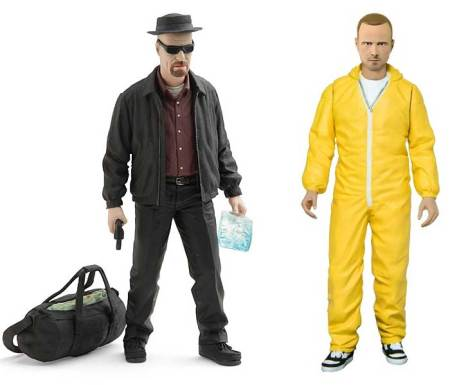 Muñecos de Breaking Bad causan controversia - breaking-bad-toys-450x385
