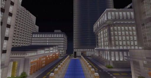 Titan City, la ciudad más espectacular hecha en Minecraft - ciudad-minecraft
