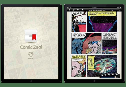Apps para leer cómics desde tu iPhone o iPad - comic-zeal