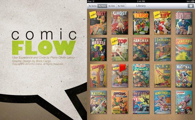 Apps para leer cómics desde tu iPhone o iPad - comicflow