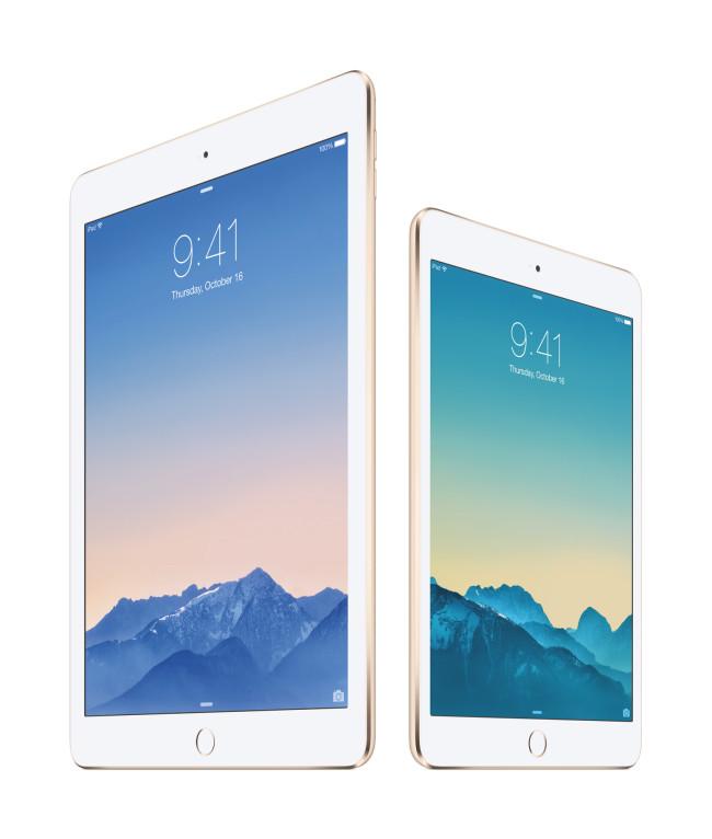 Apple anuncia el nuevo iPad Air 2 - ipad-air-2-ipad-mini-3