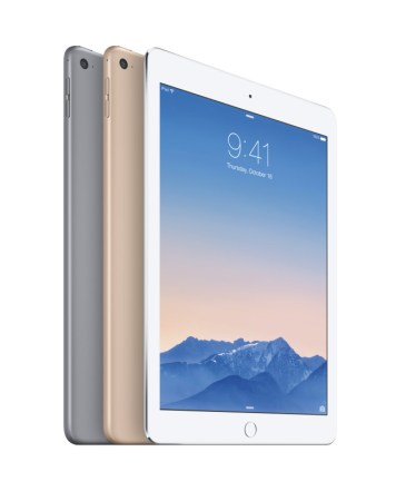 Apple anuncia el nuevo iPad Air 2