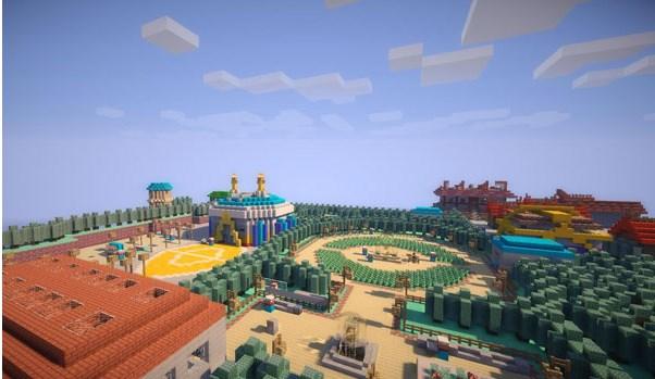 Descargar mapas para Minecraft gratis - mapa-jhoto-minecraft
