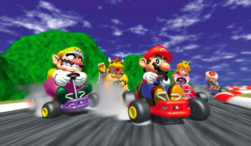 Top 10 de las mejores secuelas en videojuegos - mario-kart-64