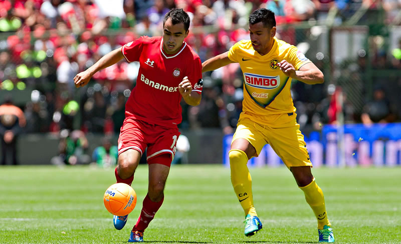 América vs Toluca, Jornada 16 del torneo Apertura 2014 - America-vs-Toluca-en-vivo-Apertura-2014