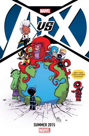 Civil War y Age of Ultron: Los misteriosos teasers de Marvel - Avengers_vs._X-Men_2015-296x450
