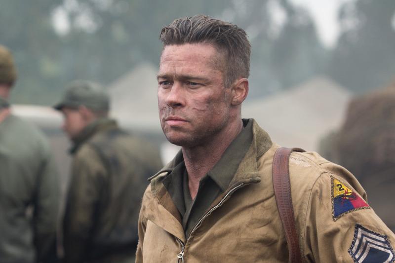 Fury, Annie y otras películas se filtran tras el hackeo a Sony Pictures - BradPIttCloseFury-800x533