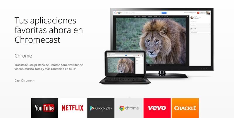 10 cosas que debes saber del Chromecast de Google - Chromecast-Apps