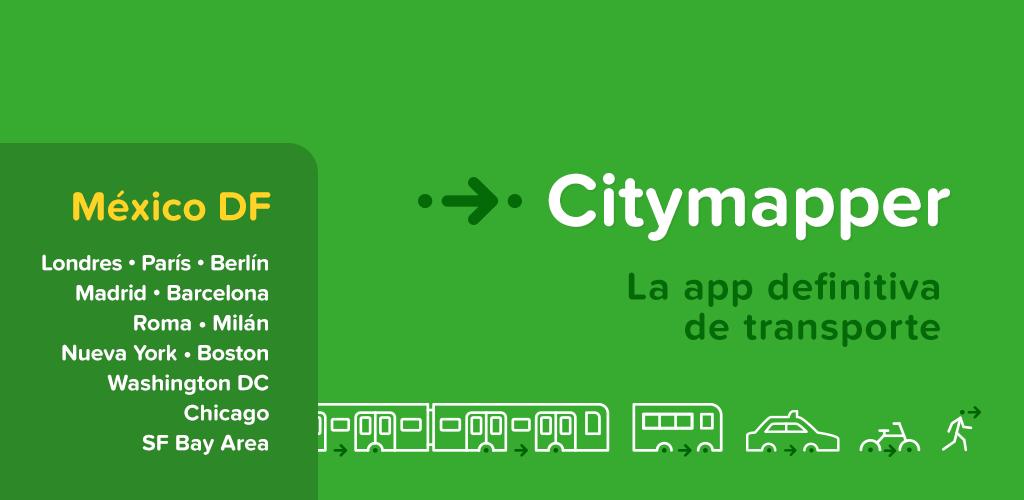 CityMapper, la app definitiva para realizar recorridos urbanos llega a México - CityMapper-Mexico-DF